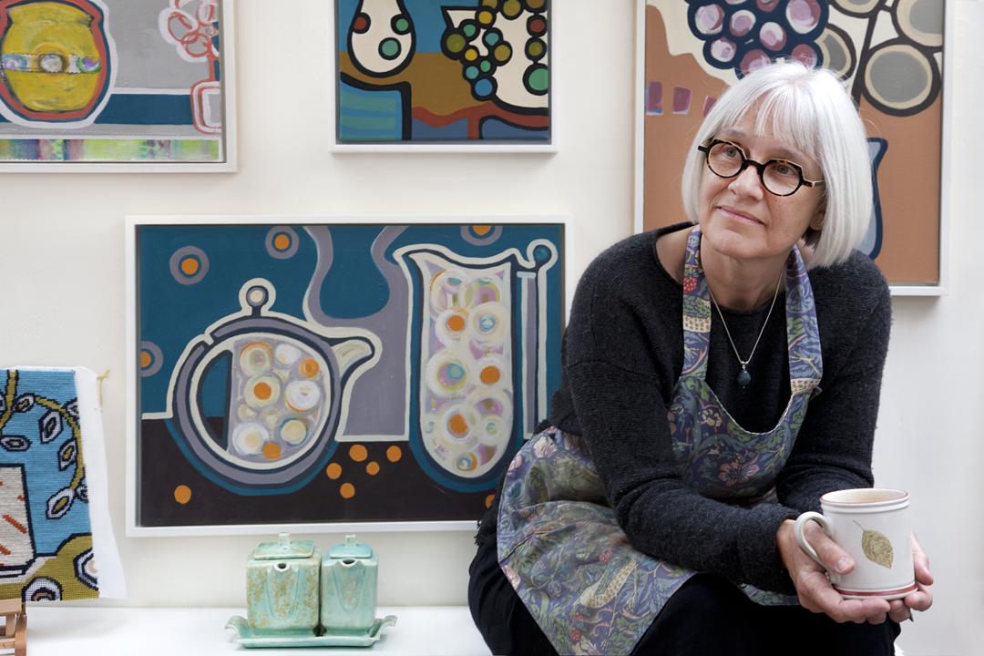Sarah de Mattos - studio portrait 2021